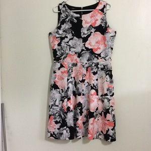 Alfani flower dress